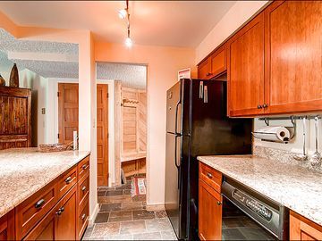 Brand New Lighting, Cherry Cabinets and Granite Countertops