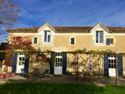 The House in the Orchards and Vineyards in Lectoure, Gers department, Gascony