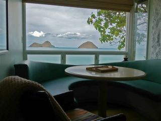 Lanikai house photo - Studio dining nook