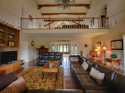 Great Room and upstairs landing