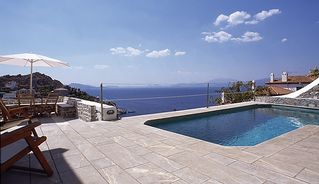 Hydra Island villa photo - Refreshing very deep pool