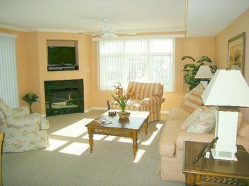 Bel Mare Ocean City condo rental - Living Room