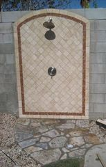 Palm Springs house photo - Outdoor shower