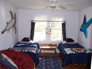 New Bern cottage photo - Bedroom in Bamboo Cottage