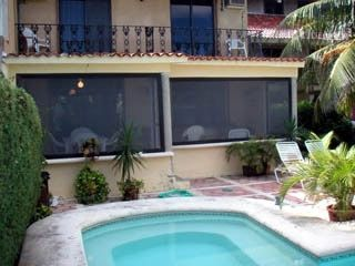 Heated pool, screen porch and second floor balcony