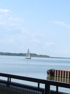 Sailboat on the Beautiful Sandusky Bay