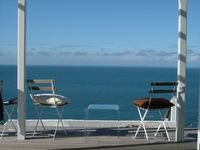 Superb house and panoramic views,overlooking the sea  Devon surfing coast