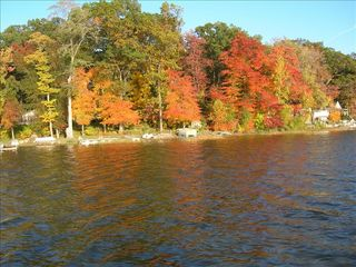 Enjoy the fall colors - Sister Lakes house vacation rental photo