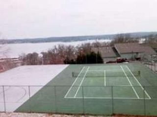 Lake Ozark condo photo - Complex tennis courts