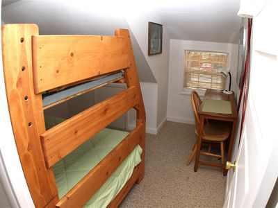 bedroom #2/ bunk beds