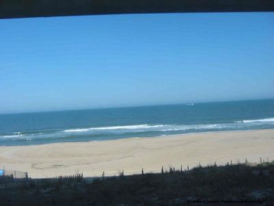 Sandpiper Dunes Ocean City condo rental - Direct View of Ocean from Deck