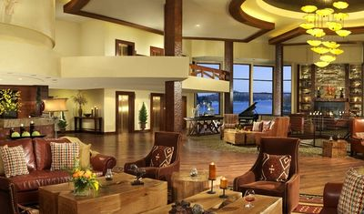 Visit Lake Arrowhead resort for dinner, drinks or a Spa day