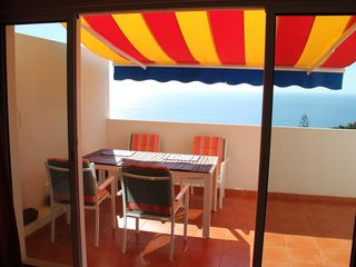 Canico apartment photo - Sunny terrace with seaview