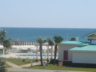 Gulf Shores condo photo - Beach & Pool View From Balcony