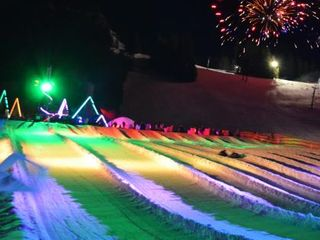 Cosmic Tubing at Mt. Hood Skibowl - Government Camp chalet vacation rental photo