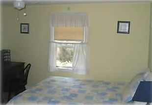 Niantic house rental - Bedroom 1 With Pond View - Queen Bed