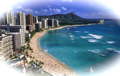 Waikiki is only 20 minutes away.
