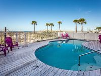Direct Beachfront Cottage with Private Pool sleeps up to 8