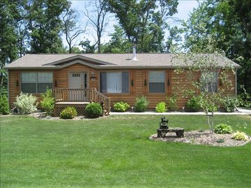 Wisconsin Dells house rental - Log Home on Golf Course
