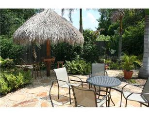 Sarasota house photo - Tropical Back Yard / Tiki Hut