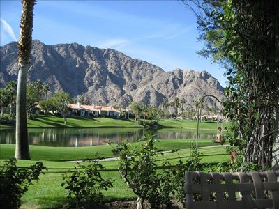 La Quinta condo rental - Awesome View! PGA West Arnold Palmer 7th Fairway, Lake & Santa Rosa Mnts.