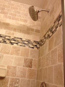 New Shower in Upstairs Master