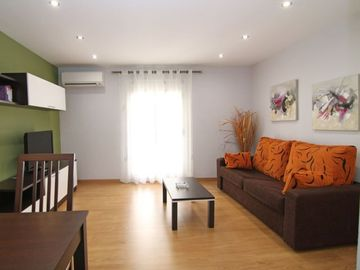 Barrio Gotico apartment rental - Living room
