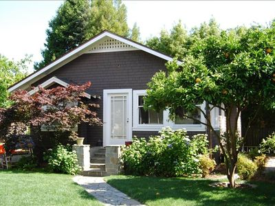 Mill Valley cottage rental - Freestanding cottage tucked away from the street. Sweet garden setting!