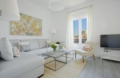 Magnificent apartment with a privileged location in Madrid.3bd, 2bth