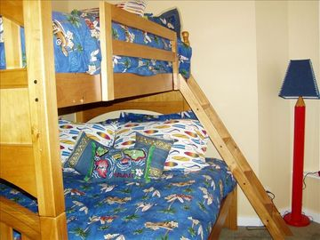 3rd bedroom - kids room single/double bunk beds
