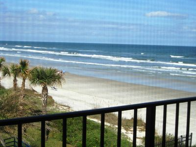 New Smyrna Beach condo rental - View from kitchen window!