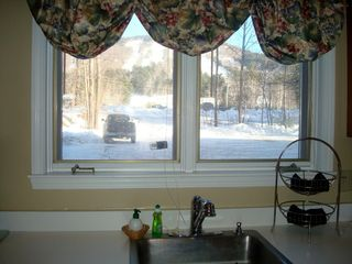 North Conway townhome photo - Great view of the mountain from the kitchen