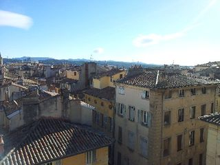 Aix-En-Provence apartment photo - View on old town.