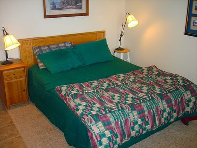 Queen Bed in the Apartment! - Queen Bed in the studio apartment above the garage. The apartment has it's own private bath.