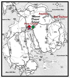 Central Location, not far from Bar Harbor and the Acadia National Park Entrance