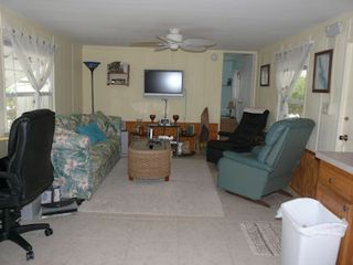 Little Torch Key mobile home photo - Cozy Living room