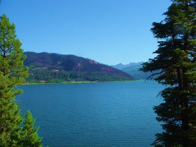 Vallecito Lake cabin rental - Veiw Looking to the north from the road leading to the Cabin