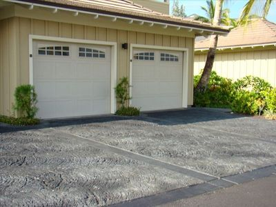 Parking not an issue; a one-car garage plus a dedicated space in front garage.