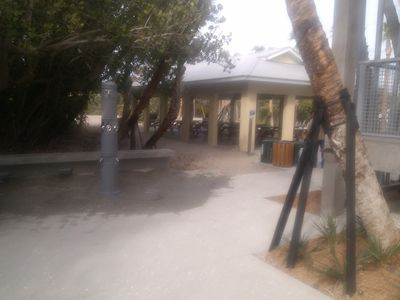 New Pavilion area at beach