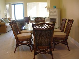 Pensacola Beach condo photo - Dining room