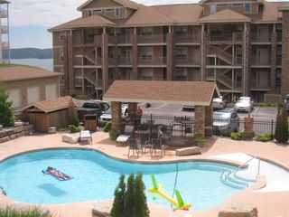 Branson condo photo - Pool, parking, condos and lake, all easy walking distance!