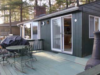 Sturbridge cottage photo - Deck with Grill and Chimnea