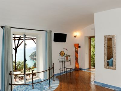Positano farmhouse rental - DELUXE ROOM