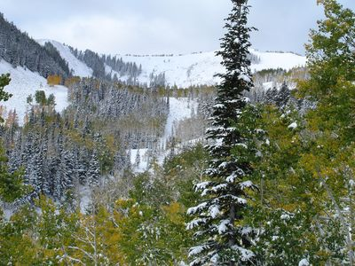 Deer Valley in early winter
