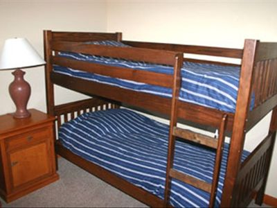 CONDO 1 - Bedroom 3 with 2 sets of Twin bunk beds.
