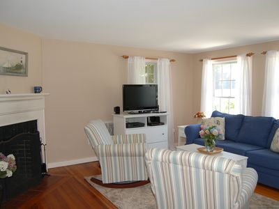 Edgartown cottage rental - Living Area