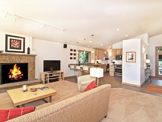 Tahoe City house photo - Enjoy a cozy fire