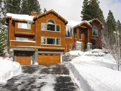 Incline Village can get plenty of snow in the winter! A true winter wonderland!