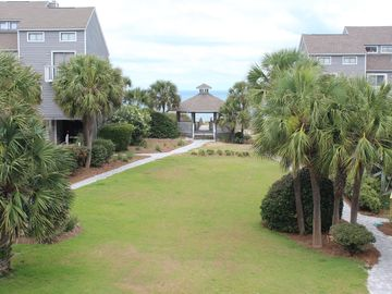 GULF VIEW 2BR/2BA TOWNHOME, DOG FRIENDLY, WI-FI, NEAR BEACH