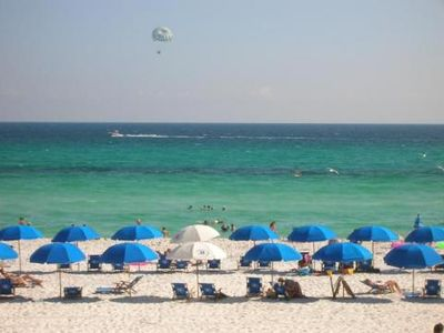 Beach chairs & umbrellas available seasonally, please see attendant for prices.